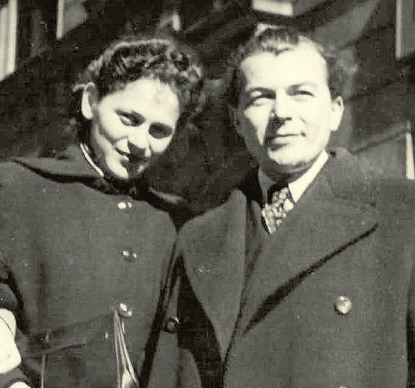 Edita with her husband Ladislav